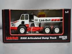 ERTL LINK BELT D300 DUMP TRUCK DIE CAST 1/50 SCALE 13193