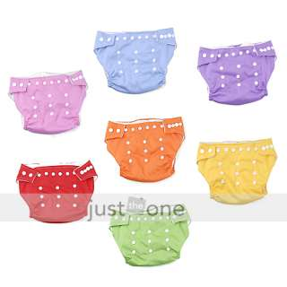 Reusable Baby Soft Cloth Diaper Nappy One Size Fit All