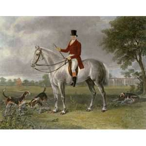 Lord Delamere Etching Calvert, Henry Lewis, C G Hunting