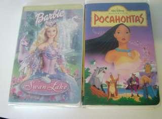 Disney Kids VHS Movie Big Princess Lot