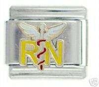 RN 9 MM ITALIAN CHARM NURSE/NURSING CHARMS