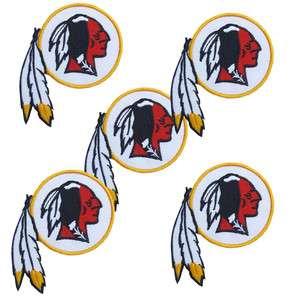 Lot Washington Redskins NFL Football Patches 4 x 3 NEW IRON SEW ON