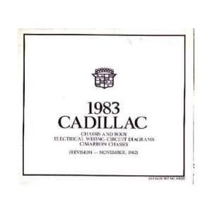 1983 CADILLAC CIMARRON Wiring Diagrams Schematics Automotive