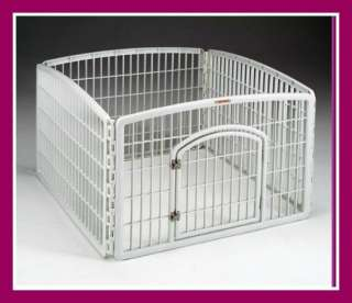 Outdoor Indoor Pet Dog Puppy Pen Training Kennel Fence