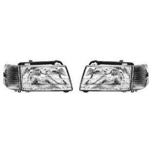 Audi 5000 Headlights Euro Clear Headlights With Corner Lights