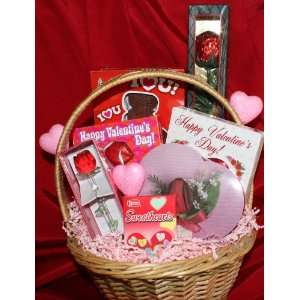 For My Sweetie Valentines Day Gift Basket Everything