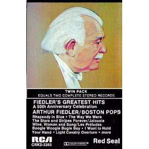 Copland, Lennon McCartney, Sousa, Arthur Fiedler, Boston Pops