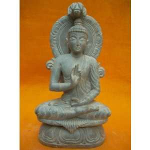 Blessing Buddha Statue Lord Budha Stone Sculpture 8.5