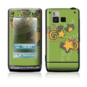 LG Dare VX9700 Skin Sticker Decal Cover   Flower Stars