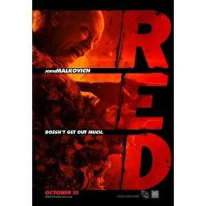 Red Movie Poster (11 x 17 Inches   28cm x 44cm) (2010) Style B  (Bruce