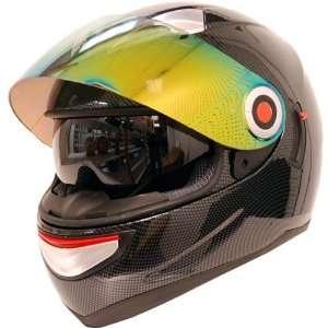 Motorcycle Street Bike Dual Lens/Double Shields Full Face Helmet Fiber