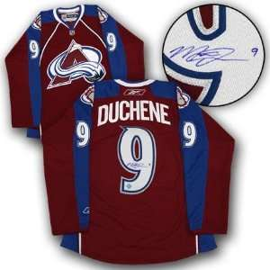 583dd6ffa MATT DUCHENE Colorado Avalanche SIGNED Rookie JERSEY Autographed NHL Jerseys  on PopScreen