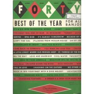 Best of the Year for All Banjos: Chas. H. Hansen Music Corp.: Books