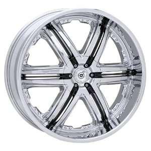 TIS DS0322984 DS03 CHROME DS0322984 22 Wheels 6x139.7