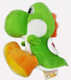 Super Mario Yoshi Plush Soft Toy Doll  Green 12 Sit