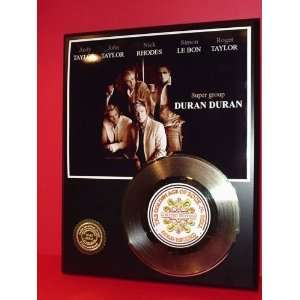 Gold Record Outlet DURAN DURAN 24KT Gold Record Display