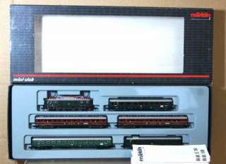 MäRKLIN 81434 MINI CLUB Z DB E LOK CLASS E18 LOCO & COACH SET ei