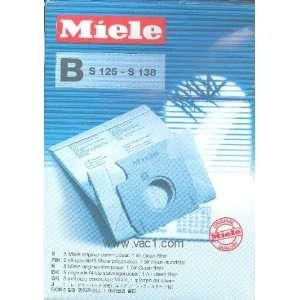 Miele B Bags5 Bags + 1 Super Air Clean Filter(for models