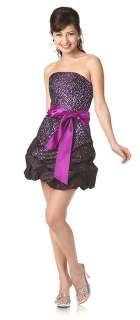 New Chraming Cute Semi Formal Cocktail Dress Prom Homecoming Strapless