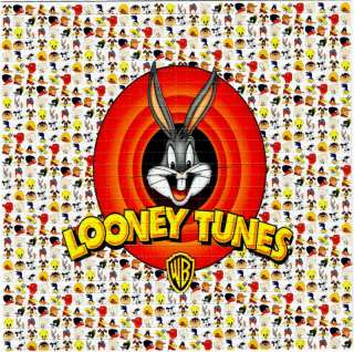 LUNEY TUNES Bugs Bunny BLOTTER ART psychedelic