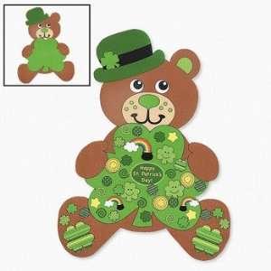 12 Design Your Own Giant Irish Teddy Bear Shaped Sticker
