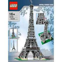 as lego large scale models buildings eiffel tower in category bread