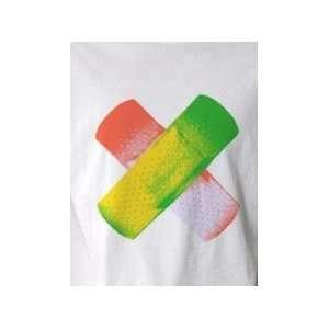 Band Aid   Pop Art Graphic T shirt (Mens Large