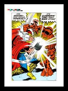 Jack Kirby Fantastic Four #73 Rare Production Art Pg 10
