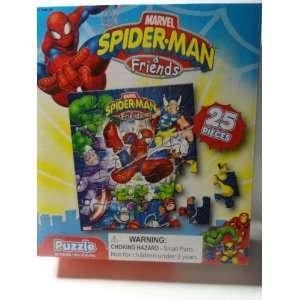 Marvel Spider man & Friends 25 Piece Jigsaw Puzzle