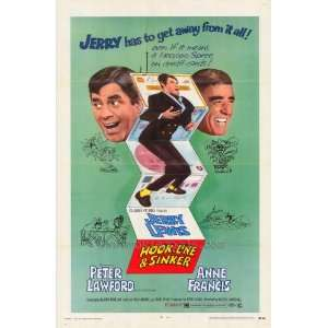44cm) (1969) Style A  (Jerry Lewis)(Peter Lawford)(Anne Francis