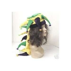 Light Up Mardi Gras Dragon Costume Hat Toys & Games