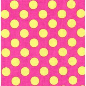 Pink and Green Dot Fitted Crib Sheet Pink Baby