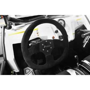 Dragonfire Racing D SHAPED STEER WHEEL SUEDE DFR AWB1060F