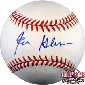Ed Glynn Autographed/Hand Signed Rawlings MLB Baseball