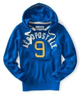 aeropostale mens aero 9 popover hoodie