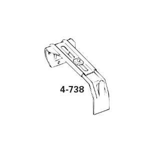 Graber Dauphine Curtain Rod Center Support Bracket (Fits 2