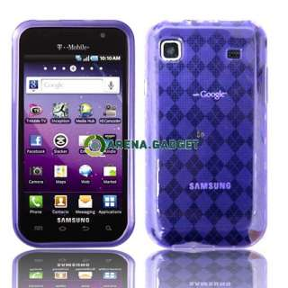 New 3x Gel Case Cover LCD FILM GUARD For T Mobile Samsung Galaxy S 4G