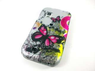 PINK BUTTERFLY COVER CASE SAMSUNG FASCINATE GALAXY S