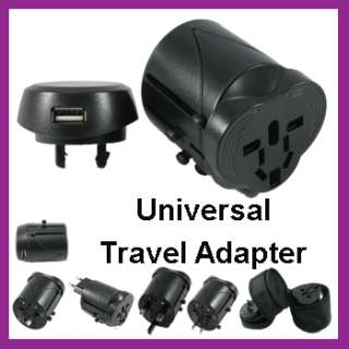 Compact Universal All In One Travel Power Adapter Plug