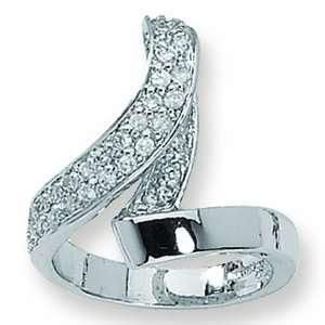 Fashion Crystal Loop Jackie Kennedy Ring GEMaffair Jewelry