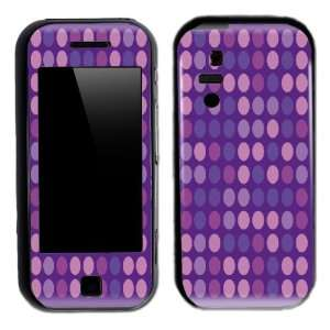 Purple Polka Dots Design Decal Protective Skin Sticker for