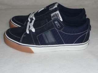 FMS Famous Stars and Straps Skateboard OG Navy Blue Low Top Shoes NIB