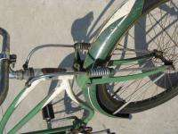 Vintage 26 cruiser Bike Antique Bicycle fat tire rat rod green