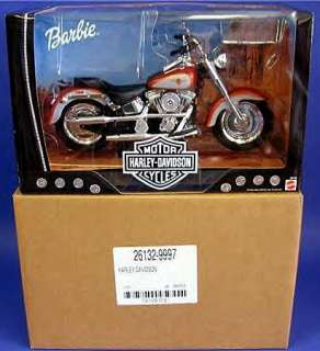 HARLEY DAVIDSON BARBIE #1 + FAT BOY MOTORCYCLE MNRFB