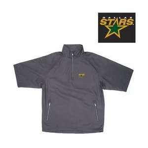 Antigua Dallas Stars Official 1/2 Zip Windshirt   DALLAS STARS BLACK