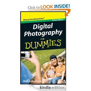 Digital Photography For Dummies, Pocket Edition (Dummies Mini) Mark