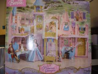 Barbie Princess & the Pauper royal musical palace NIB!