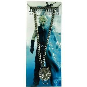 Final Fantasy Metal Cloud Wolf Necklace Toys & Games