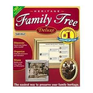 Heritage Family Tree Deluxe (Old Version) Software
