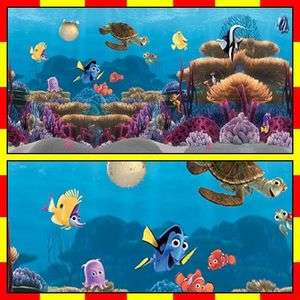 DG 904 FINDING NEMO 2 Kids Wall Decals Border Sticker
